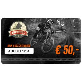 Bikeunit Geschenkgutschein 50 €